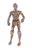 Unfinished C-3PO Royalty Free Stock Photos