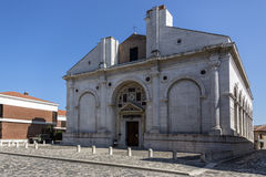 Unfinished Cathedral - Rimini - Italy Royalty Free Stock Image