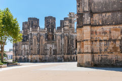 The Unfinished Chapels in Batalha Monastery Royalty Free Stock Photos