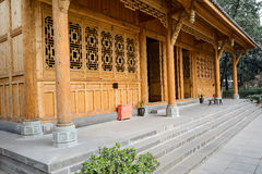 Unfinished Chinese traditional building Royalty Free Stock Photos