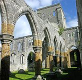 Unfinished Church. Ruins of the Unfinished Church, St. George, Bermuda stock photography