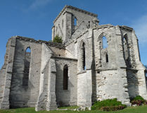 Unfinished Church. The gothic walls of the historic Unfinished Church, St. George, Bermuda Royalty Free Stock Photos