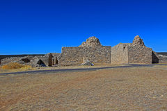 Unfinished church ruin Royalty Free Stock Photography