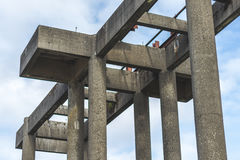 Unfinished concrete structure Royalty Free Stock Photography