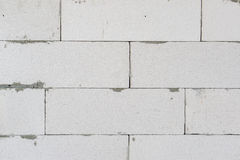 Unfinished concrete wall Royalty Free Stock Images