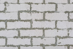 Unfinished concrete wall Royalty Free Stock Photography