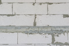 Unfinished concrete wall Royalty Free Stock Photos