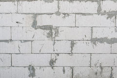 Unfinished concrete wall Royalty Free Stock Photo