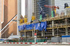 Unfinished Construction site Stock Images
