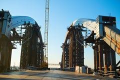 Unfinished construction site, Ukraine Royalty Free Stock Image