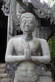 Unfinished deva statue. Stock Image