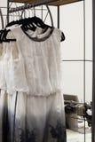 Unfinished dress Stock Photo