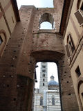 Unfinished Duomo Nuovo church. Siena Royalty Free Stock Image