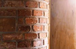 Unfinished eco house Stock Photo