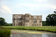 Unfinished Elizabethan Lodge Royalty Free Stock Photos