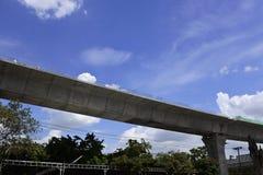 The unfinished freeway Stock Image