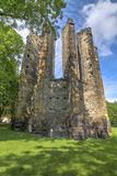 Ruins of the Gothic Cathedral of Our Lady Stock Image