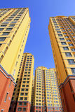 Unfinished high rise building Royalty Free Stock Photo