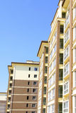 Unfinished high rise building Royalty Free Stock Photography