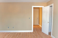 Unfinished Home Room Interior Royalty Free Stock Photography