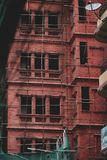 Unfinished Hotel Building at Thamel Street. Editorial Stock Image