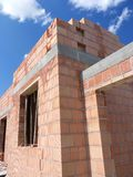 Unfinished house Royalty Free Stock Photo