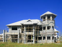 Unfinished house Royalty Free Stock Image