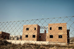 Unfinished houses Royalty Free Stock Photos