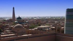 Unfinished Kalta Minor Minaret. Khiva, Uzbekistan. Unfinished Kalta Minor Minaret Khiva Uzbekistan stock footage
