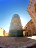 Unfinished Kalta Minor Minaret. Khiva, Uzbekistan Royalty Free Stock Photos
