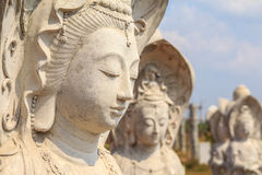 The unfinished Kuan Statue Royalty Free Stock Photo