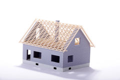 Unfinished miniature house Royalty Free Stock Photography