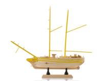 Model of ship Stock Photo