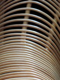 Unfinished natural color and texture surface of a raw rattan furniture Stock Photography