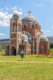 Unfinished Orthodox Cathedral Stock Photo