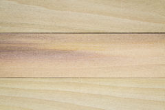 Unfinished poplar wood Stock Images