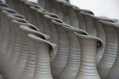 Unfinished pots Stock Photography
