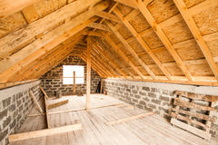 Unfinished private dwelling house Stock Photography