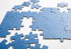 Unfinished Puzzle Royalty Free Stock Image