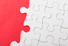 Unfinished puzzle Royalty Free Stock Images