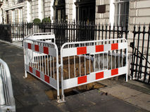 Unfinished roadworks Royalty Free Stock Photos