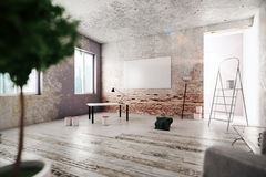 Unfinished room Royalty Free Stock Photography