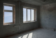 Unfinished room Royalty Free Stock Image