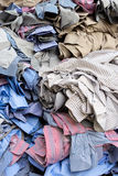 Unfinished shirts Royalty Free Stock Photos