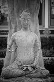 Unfinished sitting Buddha statue Stock Image