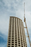 Unfinished skyscraper Royalty Free Stock Image