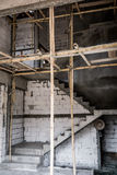 Unfinished stair construction Stock Photography