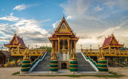 Unfinished thai temple Royalty Free Stock Photos