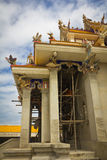 Unfinished Thai temple. Stock Image