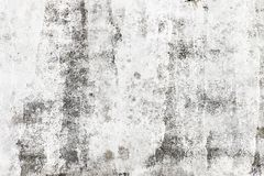 Unfinished white painted wall Stock Photo